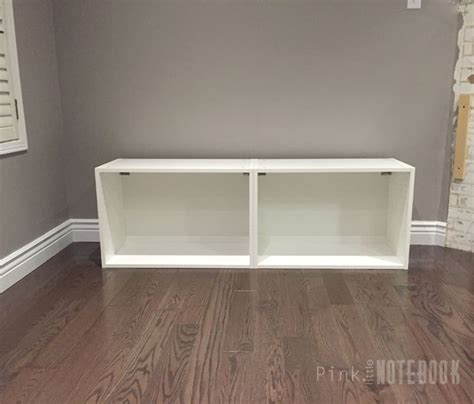 ikea console hack hometalk ikea sektion hack tv console