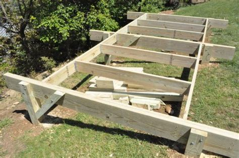 garden shed base  slope