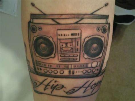 old school hip hop tattoo hip hop boombox tattoo