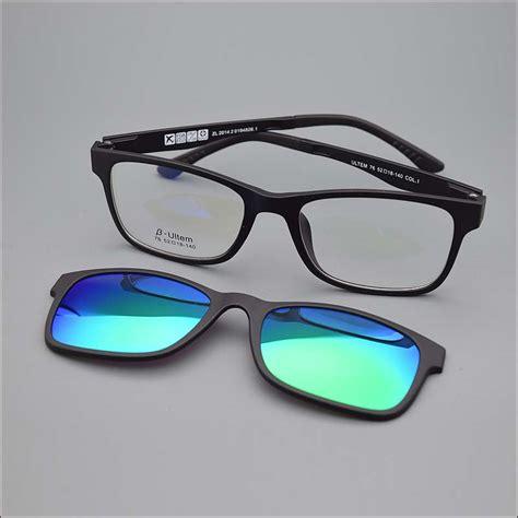 occhiali con occhiali da sole con lenti da vista