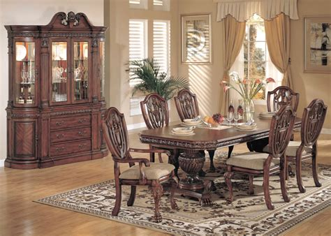 fancy luxury formal dining room sets modern spacious