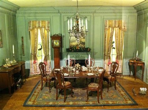 dollhouserooms doll house dining rooms miniature