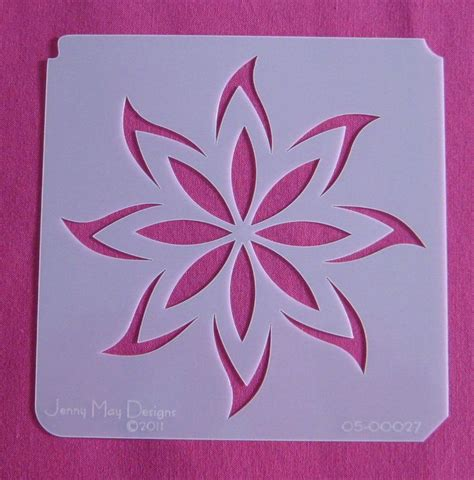 haircut designs stencils flower stencil craft room pinterest design flower