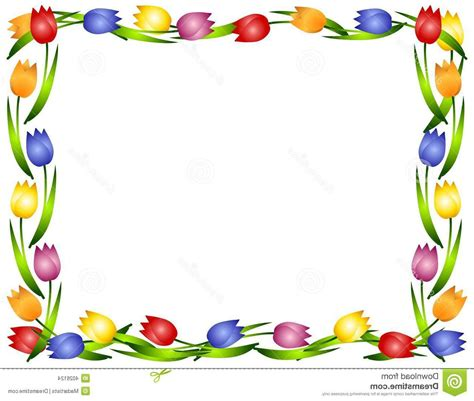 clipart borders clipart flower borders and frames flower inspiration