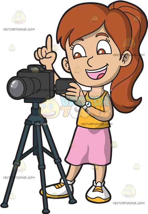 take photo a taking photographs with a digital clipart