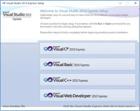 download full version visual studio 2010 free cara download dan install visual studio 2010 express full