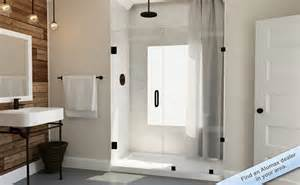 shower doors bathroom enclosures and shower bath tub enclosures anderson glass