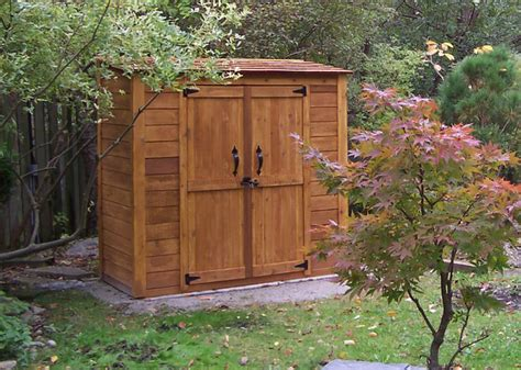 grand garden chalet  cedar garden shed contemporary