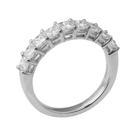platinum nine eternity ring