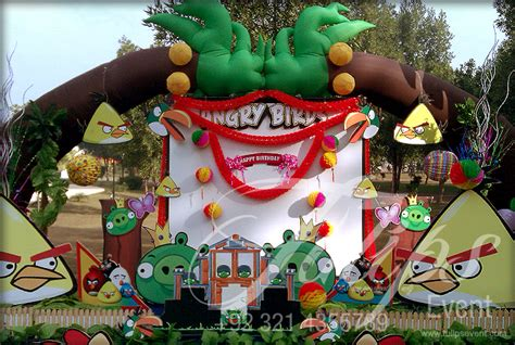 Angry Birds Decoration Ideas Tulips Event Best Angry Birds Zoo Themed Birthday
