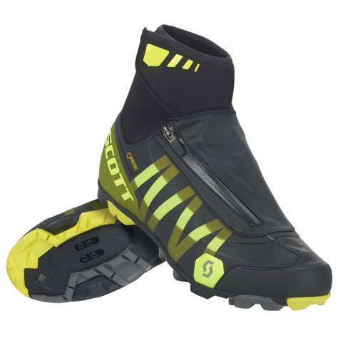 mountain bike winter shoes mtb heater tex clipless winter cycling boots
