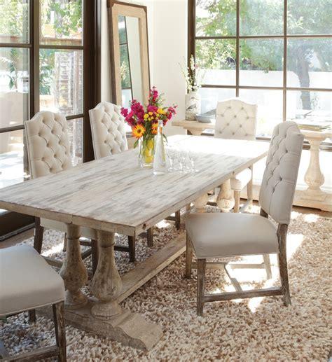 elegant distressed dining table bobreuterstl com