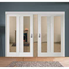 dressing a petit prix 3622 sliding room divider with white shaker glazed solid