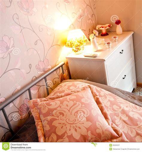 da letto particolare particolare della da letto immagine stock