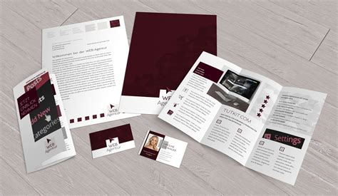 Corporate Design Vorlagen Indesign corporate design die komplettausstattung f 252 r web und it sofort lieferbar