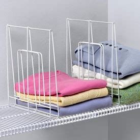 Closetmaid Wire Shelf Dividers 1000 Images About Walking Closet Ideas On