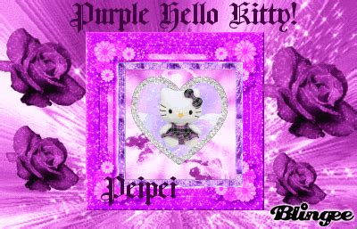 hello kitty violet themes purple hello kitty picture 132054893 blingee com