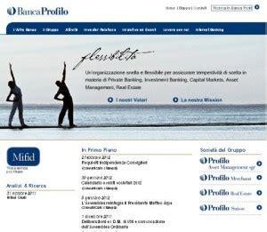 banco profilo profilo a roma banche a roma