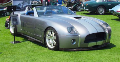 ford shelby cobra concept v10 powered ford shelby cobra concept up for bidding in