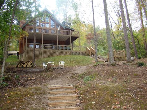 lakefront log home with homeaway lakefront log home with dock and wifi vrbo
