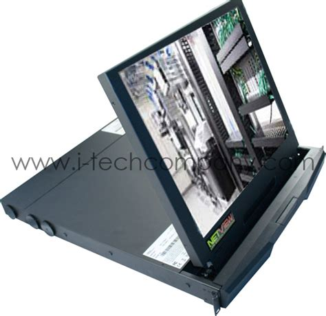 Rackmount Lcd Monitor rackmount lcd 19 quot monitor 1u drawer optional composite s dvi bnc speakers touch