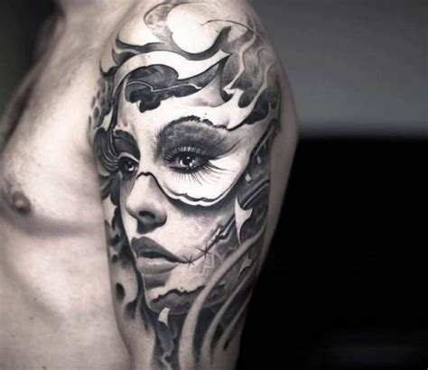 face tattoo by victor portugal post 14574
