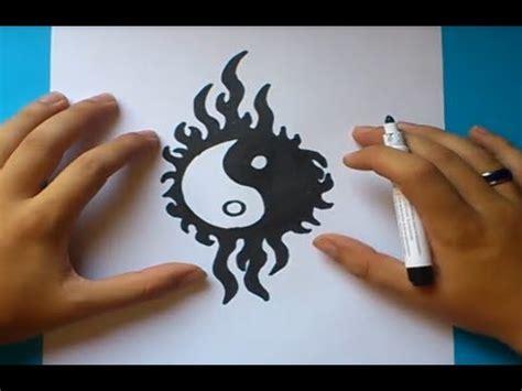 imagenes de simbolos bacanos como dibujar un simbolo yin yang paso a paso how to draw