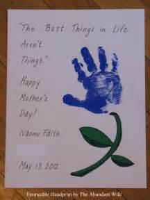 happy s day diy handprint flowers the abundant