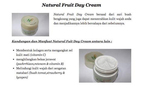 Krim Wajah Nf fruit skincare wajah alami buah buahan uh memutihkan tanpa resiko