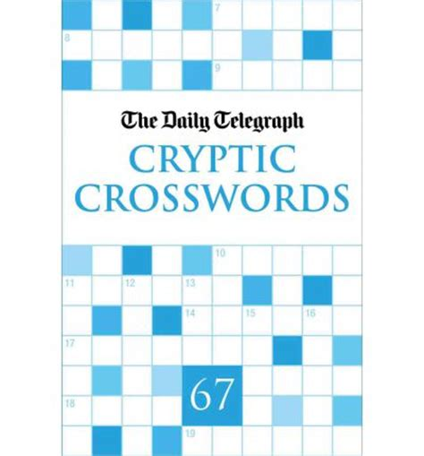the daily telegraph cryptic crossword book 56 no 56 books daily telegraph cryptic crosswords 67 telegraph