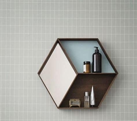 hexagon shelf diy pinterest