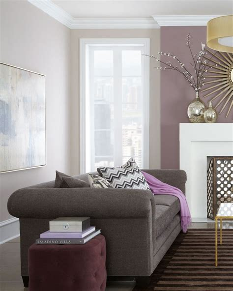 Purple Livingroom by Purple Living Room Living Rooms