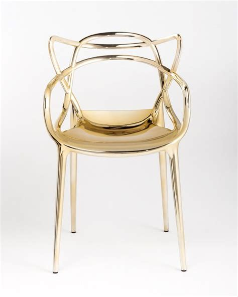 Gold Chair by Gold Starck Masters Chair From Kartell Cool Stuff