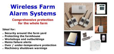 wireless farm security systems driveway gateway alarms
