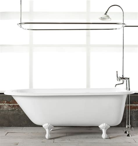 clawed bathtub 5 1 2 clawfoot tub with white exterior rejuvenation
