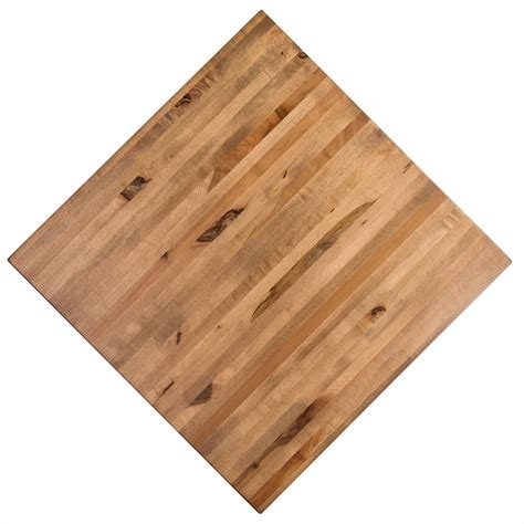 maple butcher block table top all maple butcher block toffee color 3