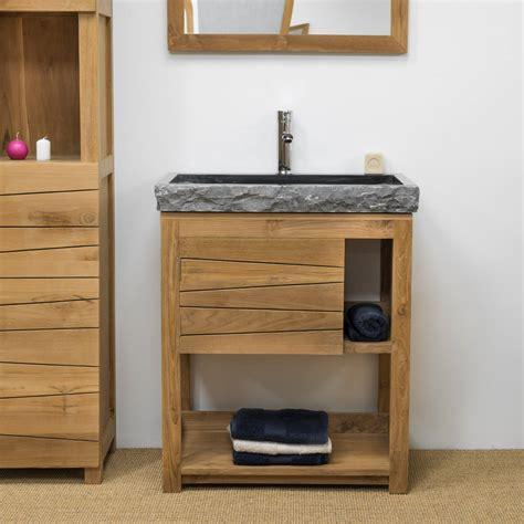 Délicieux Couleur Mur Salle De Bain #5: ori-meuble-en-teck-massif-cosy-67cm-vasque-noir-2951.jpg
