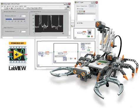 labview tutorial lego mindstorm program lego 174 robots with labview national instruments