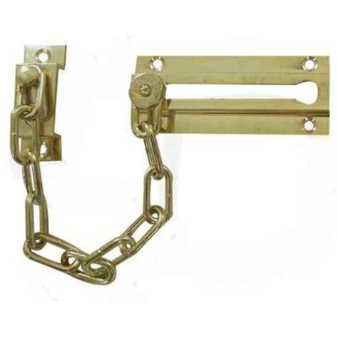 pin door chain locks on