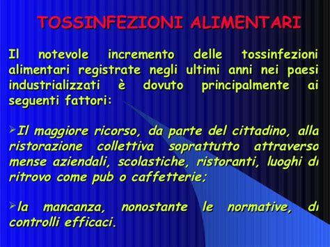 tossinfezione alimentare tossinfezioni alimentari