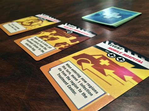 Pandemic Event Cards Template by Pandemic The Cure Review Gamernode