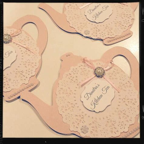 kitchen tea invites ideas 1000 ideas about bridal tea invitations on