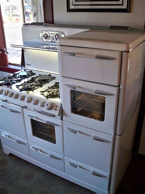 country kitchen appliances o keefe merritt town and country huge 57 quot wide six