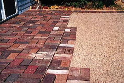 outdoor how to build a paver patio lay pavers how to