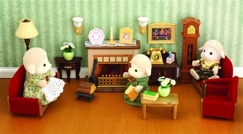 sylvanian families living room set sylvanian families luxury living room set toyworld