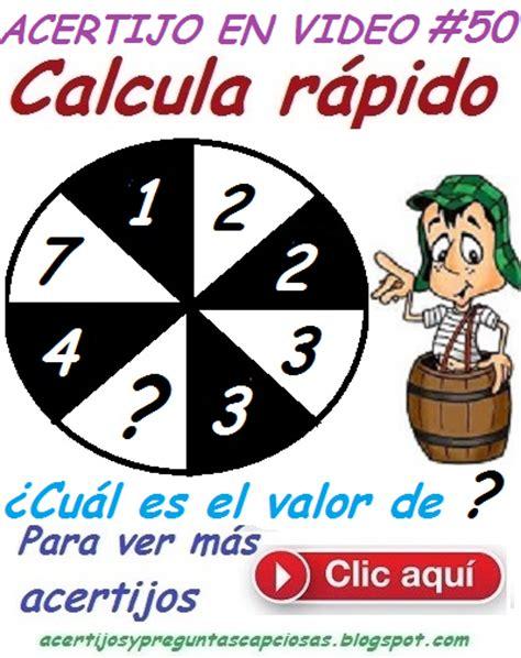 preguntas de matematicas con respuesta acertijos matem 225 ticos y preguntas capciosas