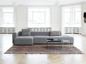 The hay mags modular sofa was designed to have a simplistic shape but