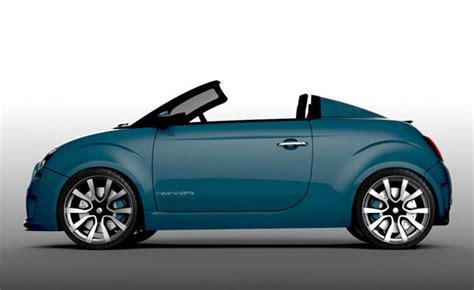 fiat 500 abarth roadster design study