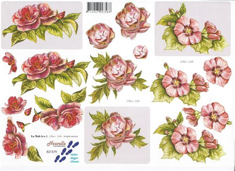 3d Decoupage - le suh decoupage 28 images le suh decoupage sheet 163