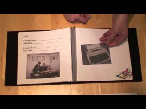 Mindstart This Is My Life Memory Book Creating And Using In Dementia Care Youtube Memory Book For Dementia Template